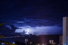 Hemelstad - Ciudad Cielo Azul bedriegt Rayo Royalty-vrije Stock Afbeeldingen