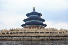 Hemelzaal in Tempel van Hemel in Peking royalty-vrije stock foto