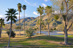 Hemet golf course Stock Photo