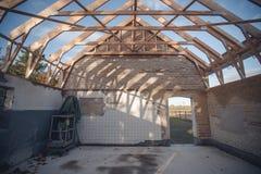 Hemförbättring på en gammal byggnad Royaltyfri Fotografi