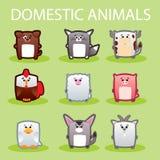 hemhjälp för djurtjurko Vektor Illustrationer