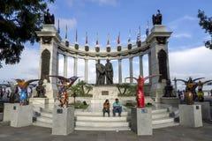 The Hemiciclo Rotunda in Guayaquil in Ecuador. Stock Photo