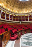 Hemicycle of French national assembly  in Paris, France Stock Images
