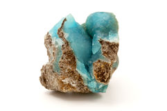 Hemimorphite Photo stock