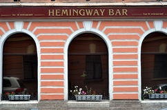 Hemingway bar in St. Petersburg Stock Images