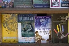 Hemingway books, Havana, Cuba Stock Images