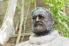 Hemingway bust Stock Images