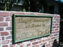 Hemingway dom obrazy stock