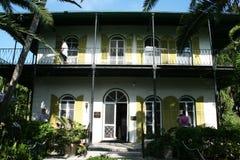 Hemingway house stock image