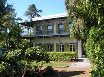 Hemingway hus Key West Fotografering för Bildbyråer
