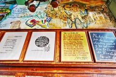 Hemingway and mojito in Havana, Cuba Royalty Free Stock Images