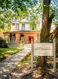 Hemingways's House. Birthplace Home of Ernest Hemingway Royalty Free Stock Image