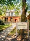 Hemingways's House. Birthplace Home of Ernest Hemingway Royalty Free Stock Photography
