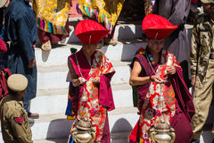 Hemis Festival 2014 at Hemis Monastery. Hemis Monastery is a Tibetan Buddhist monastery of the Drukpa Lineage, located in Hemis, Ladakh, India. Situated 45 km Stock Images