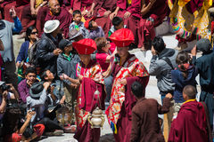 Hemis Festival 2014 at Hemis Monastery. Hemis Monastery is a Tibetan Buddhist monastery of the Drukpa Lineage, located in Hemis, Ladakh, India. Situated 45 km Royalty Free Stock Photos