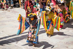Hemis Festival 2014 at Hemis Monastery. Royalty Free Stock Photos