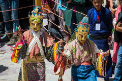 Hemis Festival 2014 at Hemis Monastery. Hemis Monastery is a Tibetan Buddhist monastery of the Drukpa Lineage, located in Hemis, Ladakh, India. Situated 45 km Stock Image