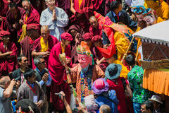 Hemis Festival 2014 at Hemis Monastery. Royalty Free Stock Photography