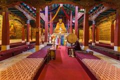 Hemis kloster, Ladakh royaltyfria foton