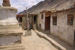 Hemis monastery. Monks houses in Hemis monastery, Ladakh stock photos