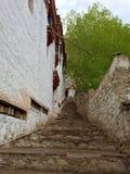 Hemis Monastery stone staircase Stock Photography