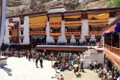Hemis Monastery. royalty free stock photo