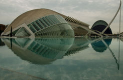 Hemisferic在巴伦西亚,西班牙 免版税库存照片