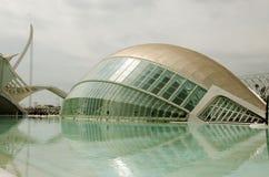 Hemisferic在巴伦西亚,西班牙 免版税库存图片