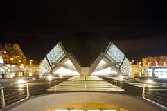 Hemisferic в городе искусств и наук, Валенсии Стоковое Фото