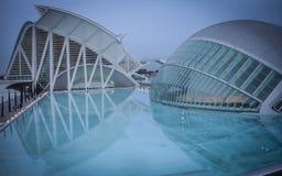 Hemisferic, cidade das artes e da ciência, Valência, Espanha imagem de stock royalty free