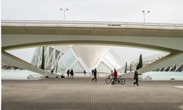 Hemisferic in the City of Arts and Science, Valencia, Spain Stock Photo