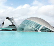Hemisferic in The City of Arts and Sciences Stock Photography