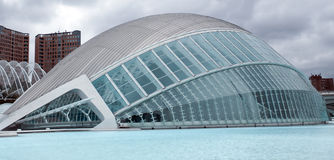 Hemisferic in The City of Arts and Sciences Royalty Free Stock Photo