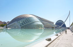 Hemisferic in the City of Arts and Sciences Royalty Free Stock Photography
