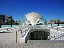 Hemisferic in  city of arts and sciences in Valencia, Spain Stock Photography
