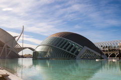 Hemisferic in the city of Arts and Sciences, Valencia Royalty Free Stock Photography