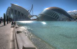 Hemisferic in the city of Arts and Sciences, Valencia Royalty Free Stock Photo