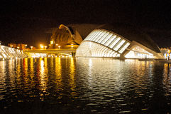 Hemisferic in the city of Arts and Sciences, Valencia Stock Image
