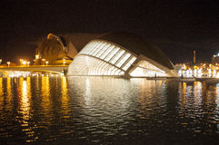 Hemisferic in the city of Arts and Sciences, Valencia Stock Photography
