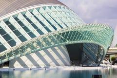 Hemisferic in der Stadt von Künsten, Valencia Lizenzfreies Stockfoto
