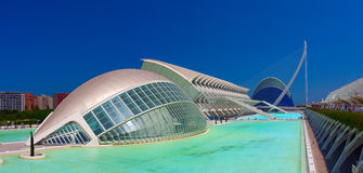 Hemisferic Museum of science in Valencia Stock Photography