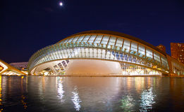 Hemisferic planetarium in Valencia Royalty Free Stock Photography