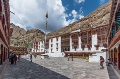 Hemisklooster - Ladakh, India Royalty-vrije Stock Afbeeldingen