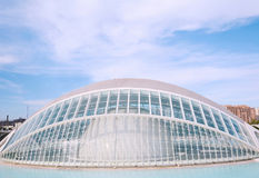 Hemisphere, City of the Arts and Sciences in Valencia Stock Image