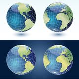Hemispheres Royalty Free Stock Image