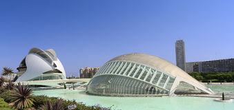 Hemispheric Building, The City of Arts and Sciences of Valencia, Spain Royalty Free Stock Photography
