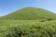 Hemispherical hill Stock Photos
