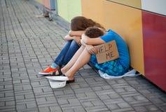 Homelessness Arkivbild