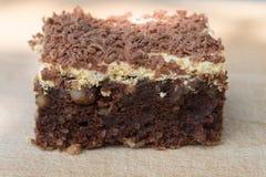 hemlagad cake Arkivfoto