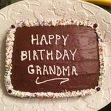 hemlagad cake Royaltyfri Fotografi